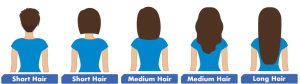 lice removal hair length chart